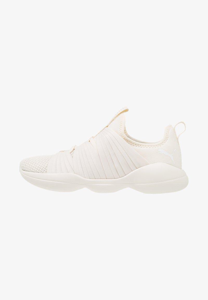 Puma - FLOURISH - Sports shoes - whisper white/white