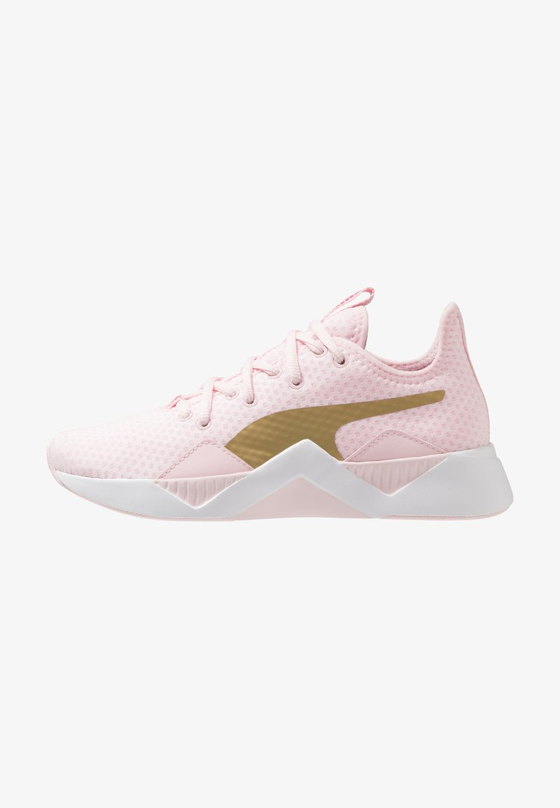 Puma - INCITE SWEET - Obuwie treningowe - barely pink/gold/purple