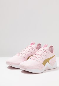 Puma - INCITE SWEET - Obuwie treningowe - barely pink/gold/purple - 2