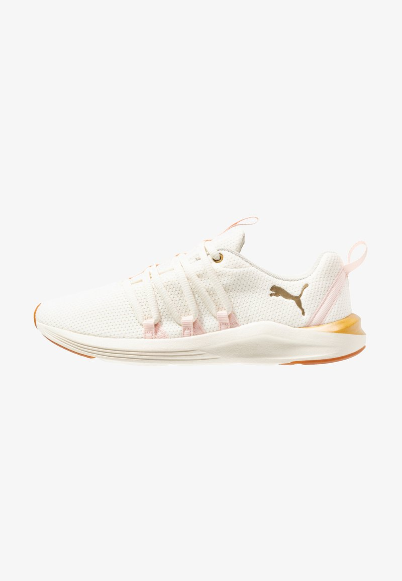 Puma - PROWL ALT SWEET - Neutral running shoes - whisper white/barely pink/metallic gold