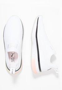 Puma - SG SLIP-ON DROP 1 - Sports shoes - white/black - 1