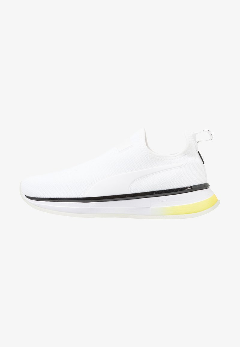 Puma - SG SLIP-ON DROP 1 - Sports shoes - white/black