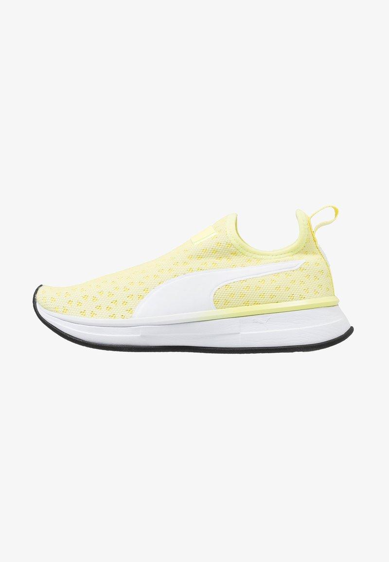 Puma - SG SLIP-ON DROP 2B - Sports shoes - soft fluo yellow/white/black