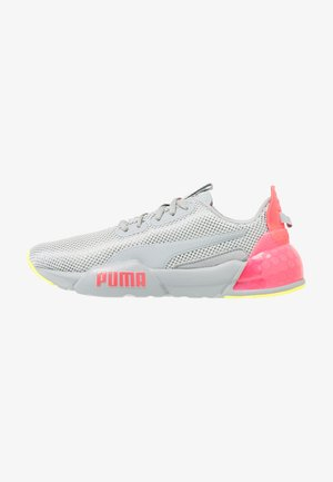 CELL PHASE - Neutral running shoes - quarry/pink alert