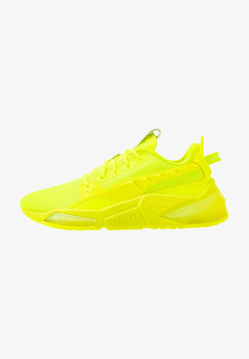 Puma - LQDCELL OPTIC SCI-FI - Obuwie do biegania treningowe - yellow alert