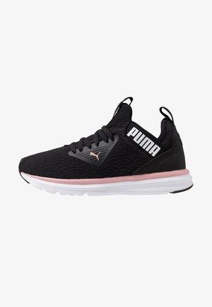 ENZO BETA FLUID - Neutral running shoes - black/bridal rose