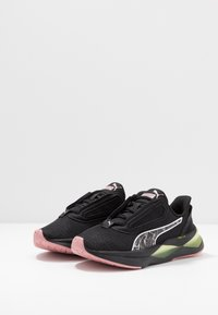 Puma - LQDCELL SHATTER XT SHIFT - Sports shoes - black/yellow alert