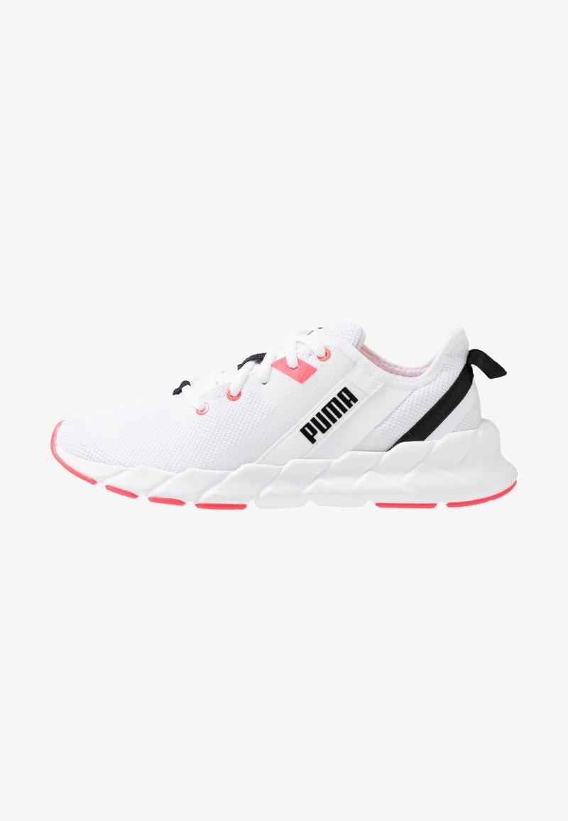 Puma - WEAVE XT - Zapatillas de running estables - white/pink alert