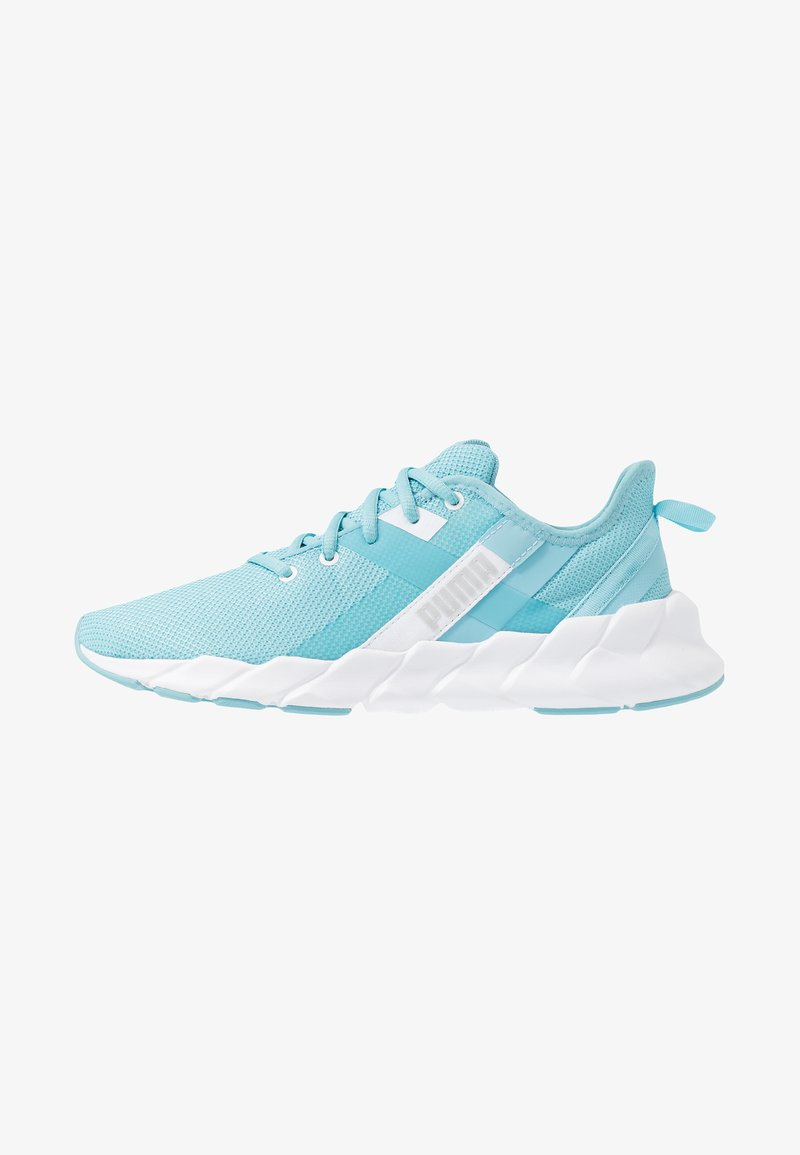Puma - WEAVE XT - Stabilty running shoes - milky blue/white