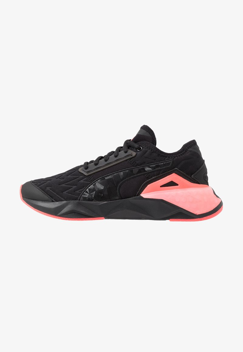 Puma - CELL PLASMIC FLUO - Sports shoes - black/pink alert