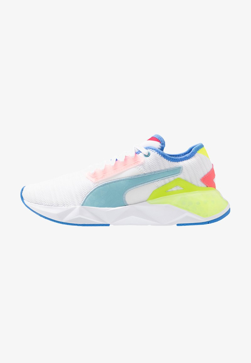 Puma - CELL PLASMIC - Treningssko - white/yellow alert/milky blue