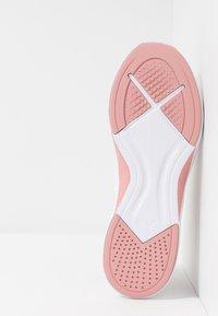 Puma - INCITE FS SHIFT - Sports shoes - pastel parchment/bridal rose/white - 4