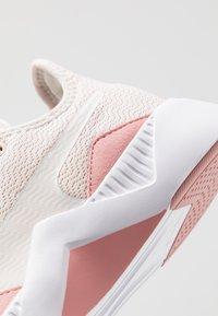 Puma - INCITE FS SHIFT - Sports shoes - pastel parchment/bridal rose/white - 5