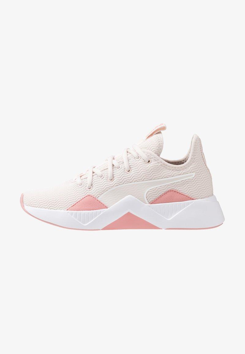 Puma - INCITE FS SHIFT - Sports shoes - pastel parchment/bridal rose/white