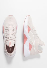 Puma - INCITE FS SHIFT - Sports shoes - pastel parchment/bridal rose/white - 1
