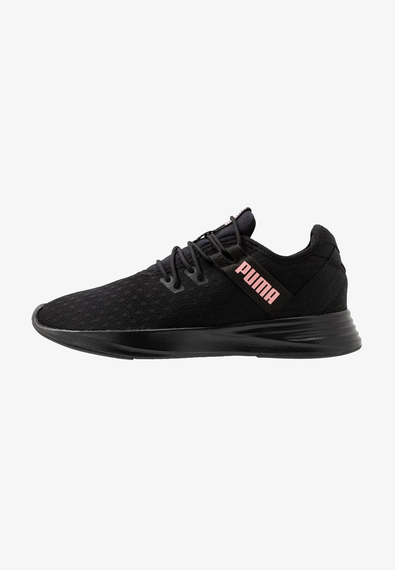 Puma - RADIATE XT PATTERN - Sports shoes - black/bridal rose
