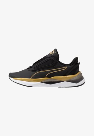 LQDCELL SHATTER XT MATTE - Sports shoes - black/team gold