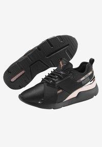 Puma - Sports shoes - puma black-rose gold - 3