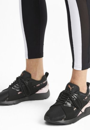 Sports shoes - puma black-rose gold