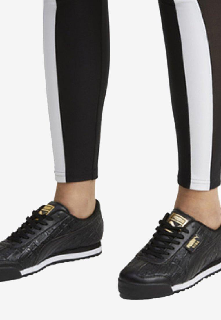 Puma - ROMA REINVENT - Sports shoes - black