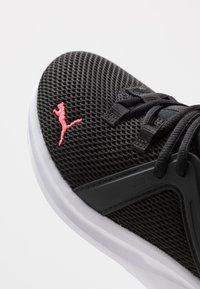 Puma - ENZO 2 - Zapatillas de running neutras - black/green glimmer/ignite pink - 5