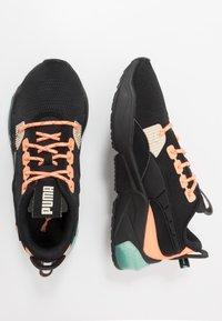 Puma - LQDCELL OPTIC FM - Neutral running shoes - black/fizzy orange - 1