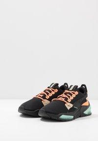 Puma - LQDCELL OPTIC FM - Neutral running shoes - black/fizzy orange - 2
