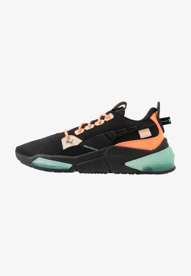 Puma - LQDCELL OPTIC FM - Obuwie do biegania treningowe - black/fizzy orange