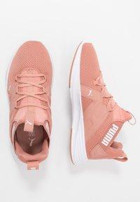 Puma - CONTEMPT DEMI - Zapatillas de running neutras - cameo brown/white - 1