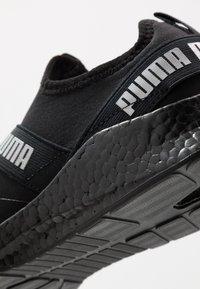 Puma - NRGY STAR SLIP-ON - Neutrální běžecké boty - black/silver - 5