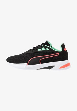 JARO  - Obuwie do biegania treningowe - black/green glimmer/ignite pink