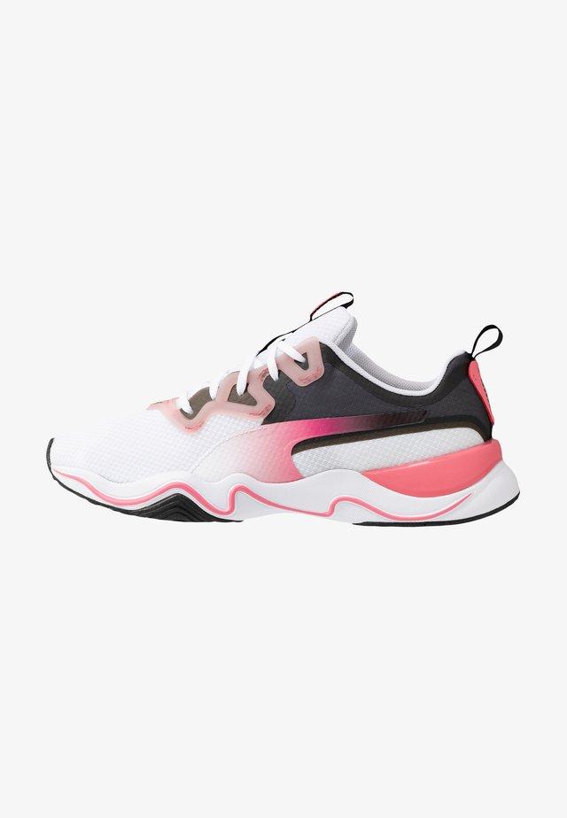 ZONE XT JELLY - Chaussures d'entraînement et de fitness - white/bubblegum