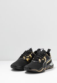 Puma - ZONE XT METAL - Zapatillas de entrenamiento - black/gold - 2