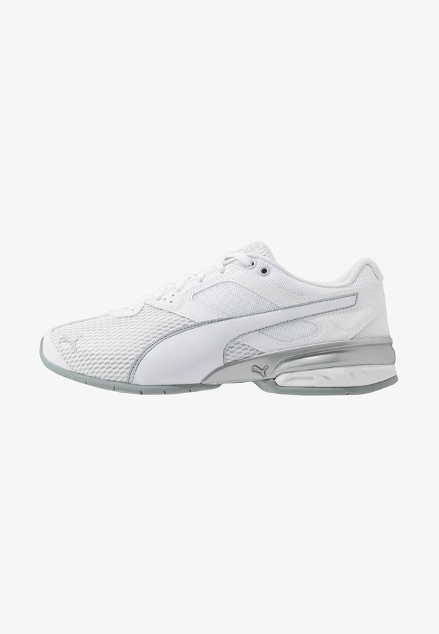TAZON 6 SHIMMER - Neutral running shoes - white/quarry