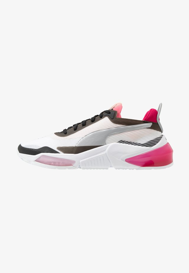 LQDCELL OPTIC XI  - Neutral running shoes - white/black/rosewater