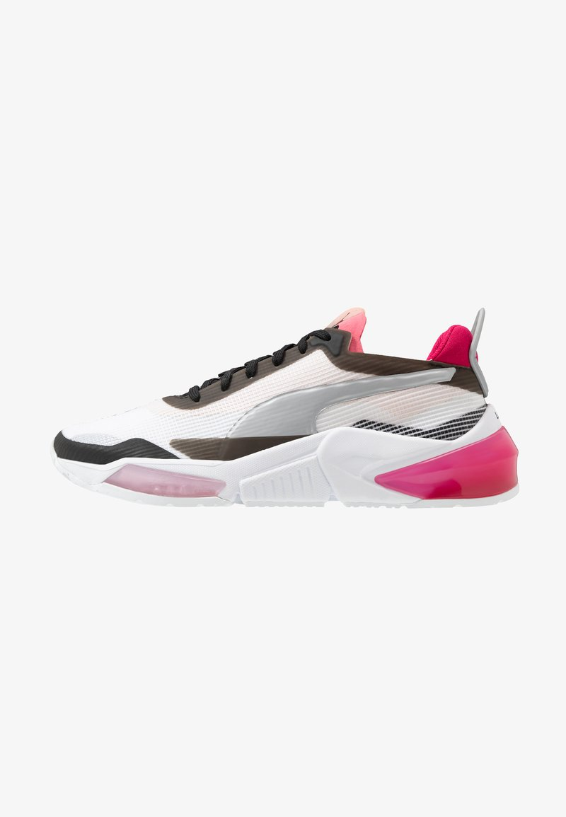Puma - LQDCELL OPTIC XI  - Obuwie do biegania treningowe - white/black/rosewater