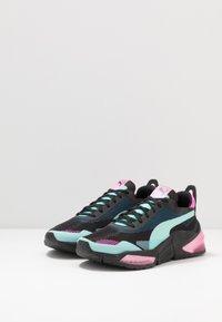 Puma - LQDCELL OPTIC XI  - Nøytrale løpesko - black/aruba blue/luminous pink - 2