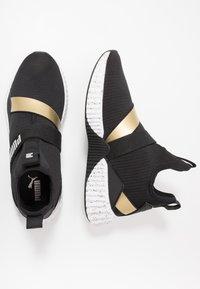 Puma - DEFY MID METAL - Sports shoes - black/white - 1