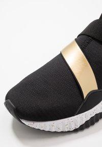 Puma - DEFY MID METAL - Sports shoes - black/white - 5