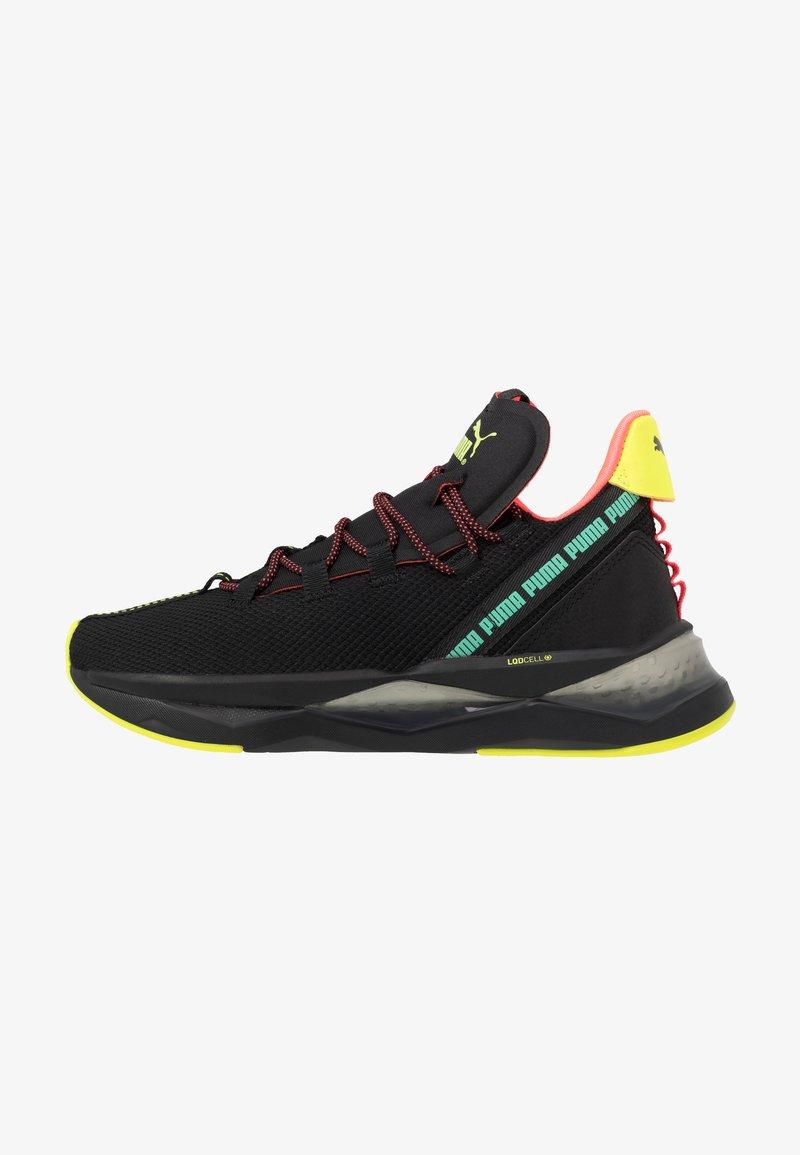 Puma - LQDCELL SHATTER TR - Sports shoes - black/yellow alert