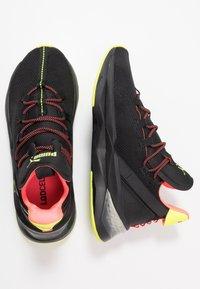Puma - LQDCELL SHATTER TR - Sports shoes - black/yellow alert - 1