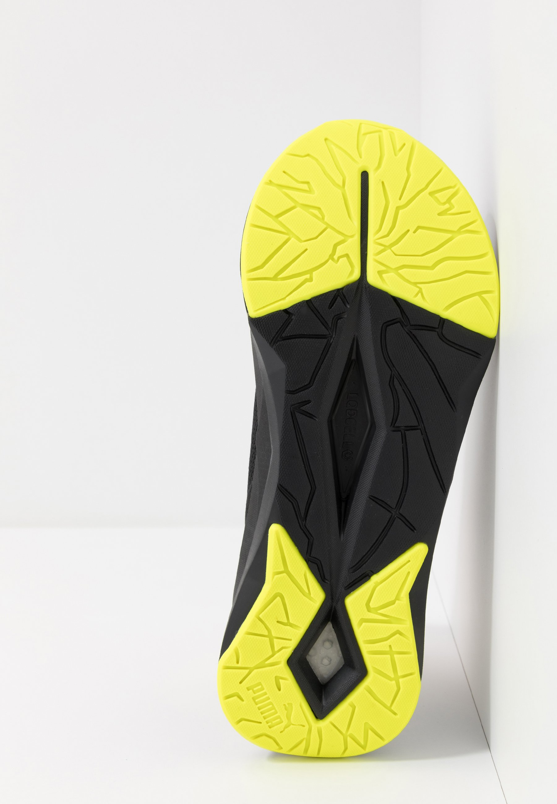 Puma LQDCELL SHATTER TR - Obuwie treningowe - black/yellow alert