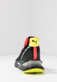 Puma - LQDCELL SHATTER TR - Sports shoes - black/yellow alert - 3