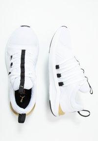 Puma - PROWL ALT ASYM - Obuwie treningowe - white/black - 1