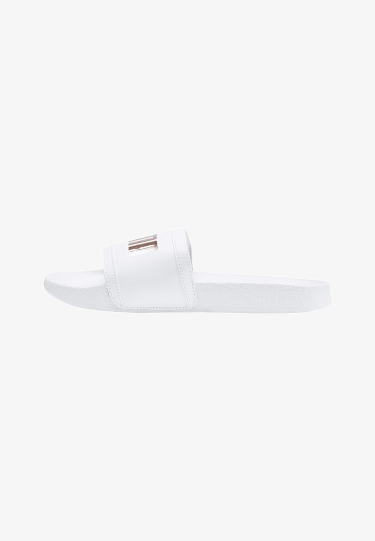 Puma - LEADCAT FTR LOGO METAL WOMEN'S SANDALS FEMALE - Chanclas de baño - white