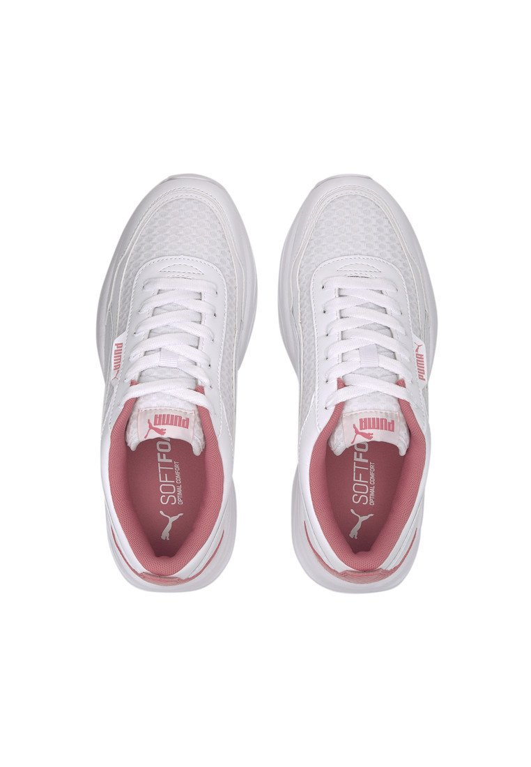 Puma - PUMA CILIA MODE MESH WOMEN'S TRAINERS FEMALE - Scarpe da fitness - white-bubblegum