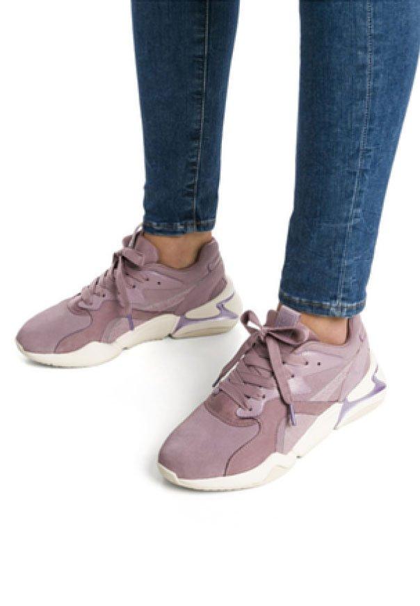 Puma - Sneaker low - elderberry-elderberry