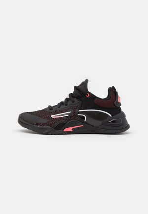 FUSE - Sports shoes - black/ignite pink