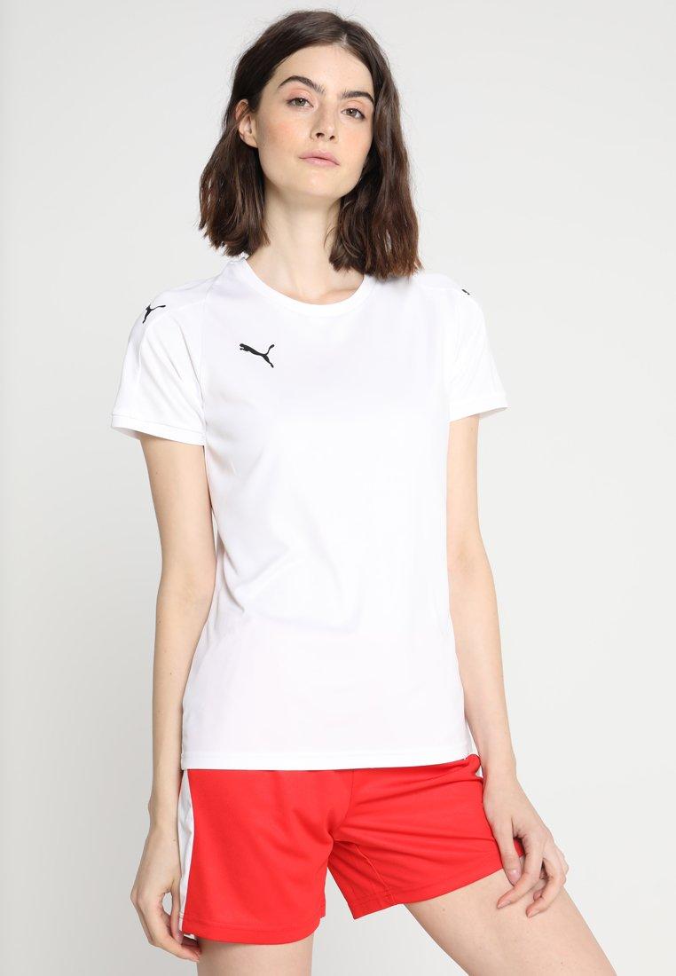 Puma - LIGA - Camiseta estampada - white