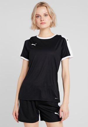 LIGA - Print T-shirt - black/white